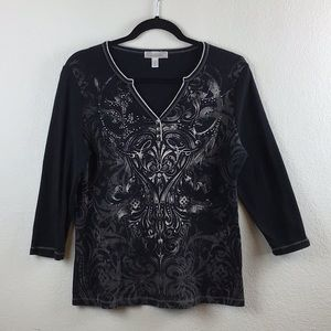Dressbarn Black Blouse